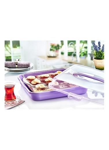 Piaff Home Kare Pasta-Börek Kabı Renkli